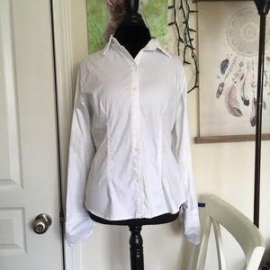 Apt 9 White Cardigan Size L